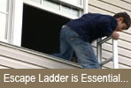 Home Safety: Escape Ladder is Essential in Home Fire Safety Plan...